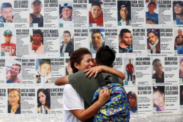 Photo Story – Notices are posted with files of missing persons in the Mexican state of Jalisco