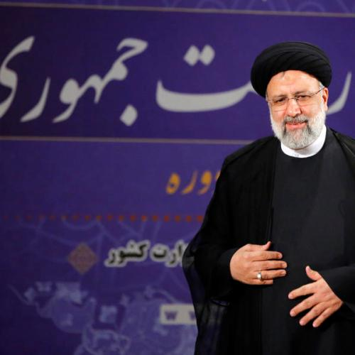 Two main contenders for Iranian president register candidacy for election