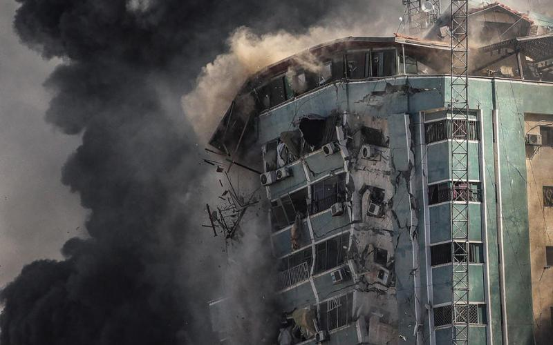 Update: Israel-Gaza conflict rages, U.S. tells Israel to protect media after tower hit