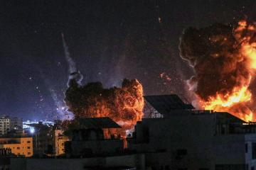In first, Gaza logs no deaths from overnight Israeli strikes