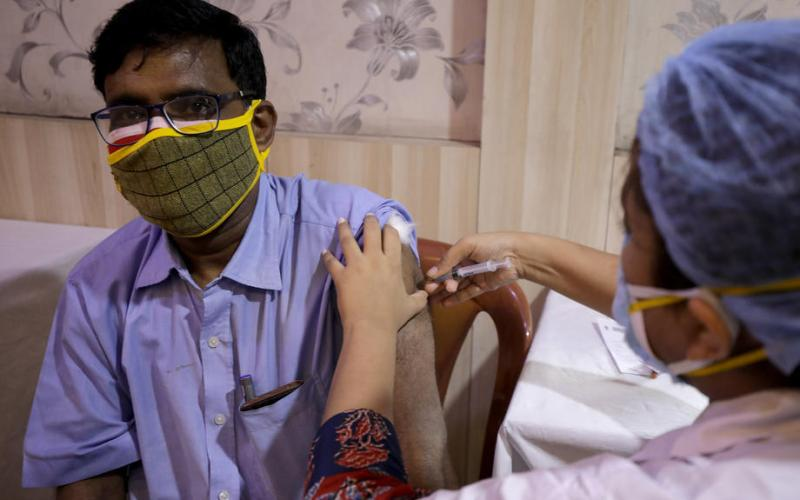 Two COVID shots effective against India variant – English health body
