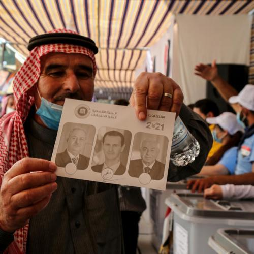 Photo Stories – Syrians abroad begin voting in presidential election