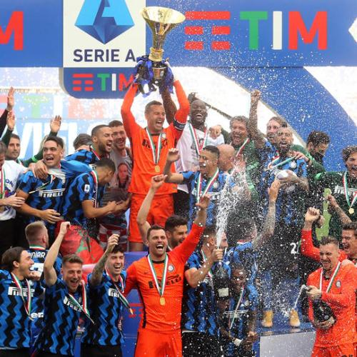Jubilant Inter finish title-winning season with Udinese rout