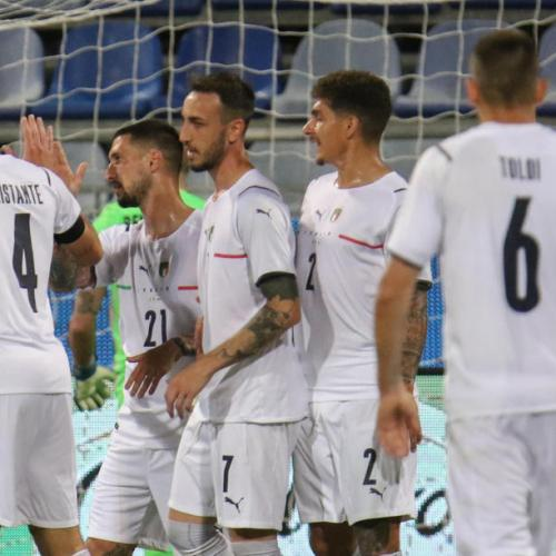 Italy thrash San Marino 7-0 to stretch winning run