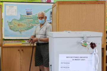 Ruling conservatives in Cyprus win election but fail to get an absolute majority