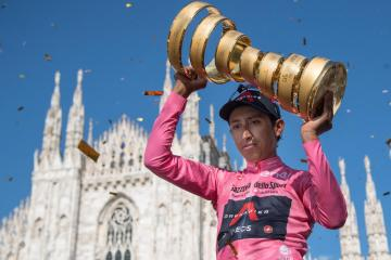 Cool and composed Bernal claims victory in Giro d'Italia