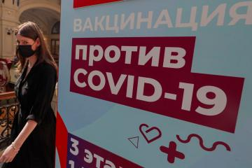 Kremlin blames 'nihilism' as Moscow sees record COVID-19 infections