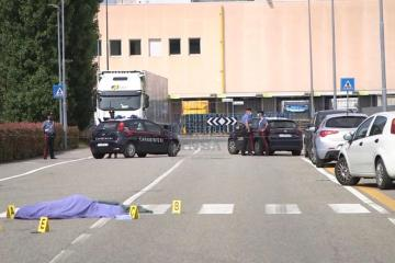 Photo Story: Italian trade union member killed by truck during strike