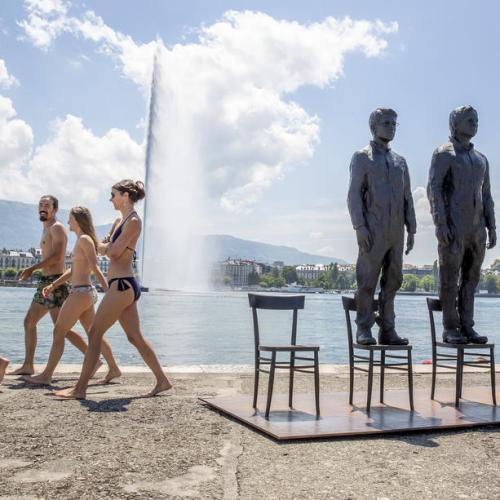Photo Story: Anything to Say? art installation in Geneva