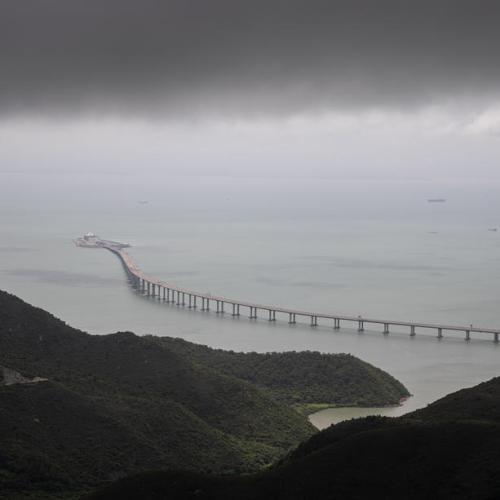 EPA's Eye in the Sky: The Hong Kong Zhuhai Macau bridge, China