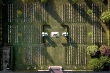 EPA's Eye in the Sky: Rheinberg War Cemetery, Germany
