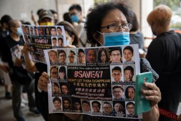 HK leader says 'ideologies' pose security risk, teenagers need to be monitored