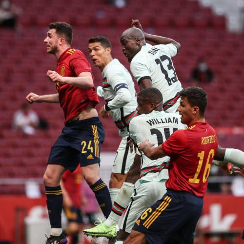 Spain and Portugal play out entertaining stalemate