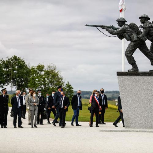 In Pictures: Normandy Memorial for British troops unveiled on Anniversary of D-Day