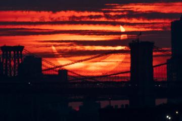 Photo Story – Partial Solar Eclipse in New York