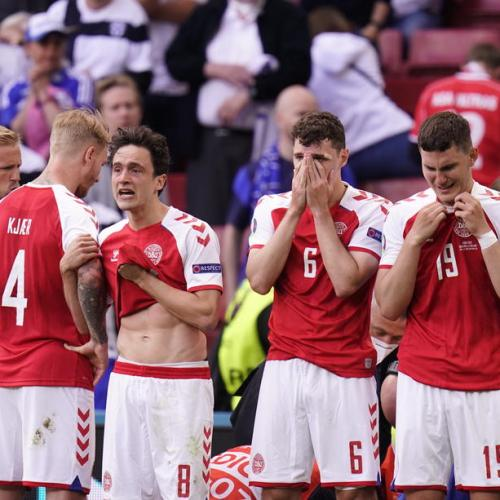 Danish players lament 'no third option' for match after Eriksen's collapse