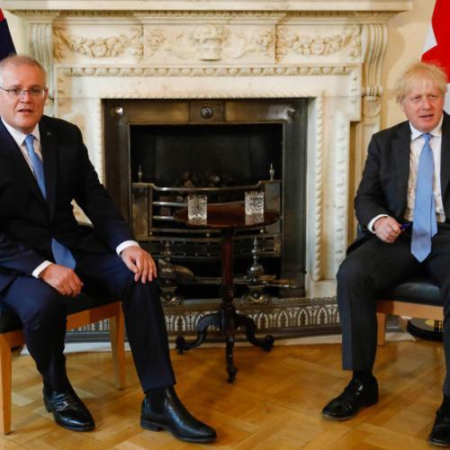 Britain and Australia announce free trade deal, Johnson hail 'new dawn'