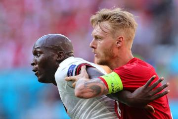 De Bruyne leads Belgium to 2-1 comeback win over Denmark