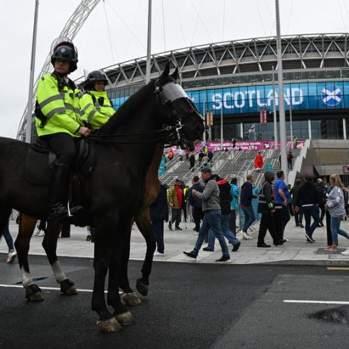 Police make 18 arrests as England clash with Scotland