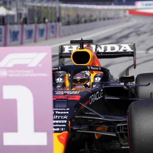 Verstappen and Hamilton on front row for Styrian GP