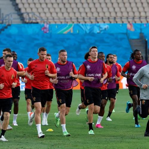 Belgium's will to win adds more pressure to their matches, says coach