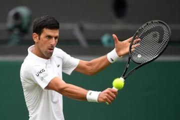 Djokovic avoids shock as Centre Court comes back to life