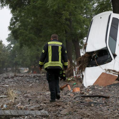 Germany faces calls for mobile phone disaster alerts after floods