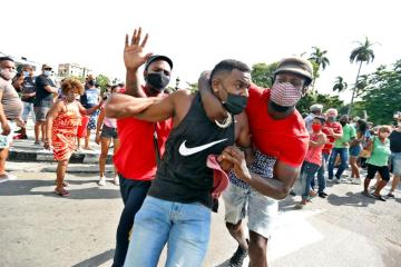 UPDATED: Thousands of protesters take to the streets in Cuba