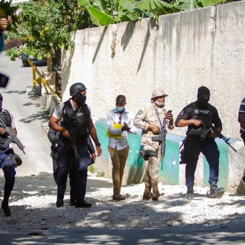 Haiti police battle gunmen who killed president, amid fears of chaos