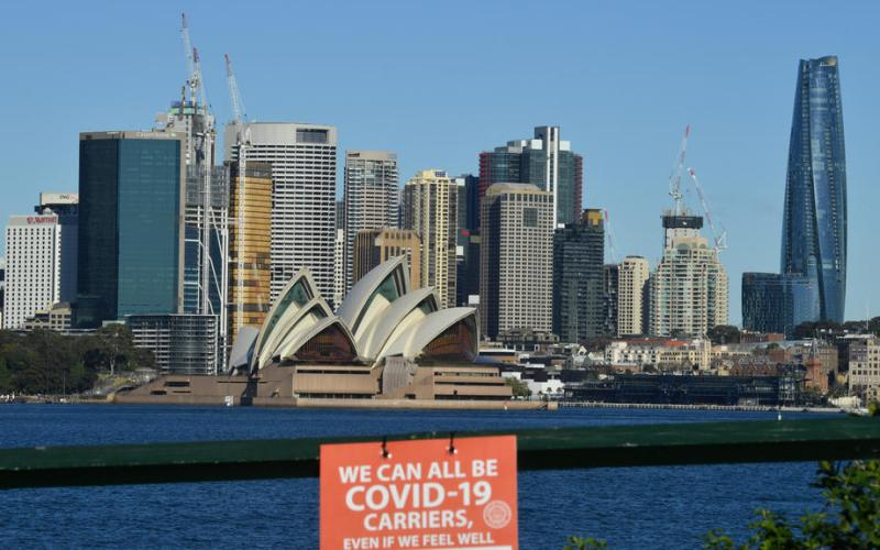 Vaccination rates surge in Sydney's hard-hit suburbs as cases dip