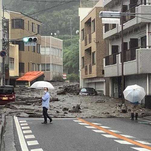 Torrential rains in Japan unleash fatal landslides