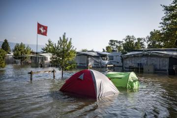 Photo Story: Floods in Switzerland