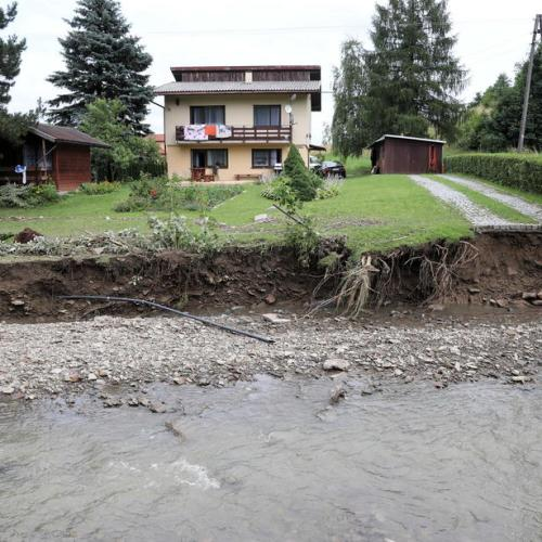 Photo Story: Heavy rains cause flooding and damage in Poland