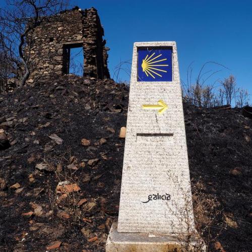 Plea to pilgrims to help clear Spain's Camino de Santiago of litter