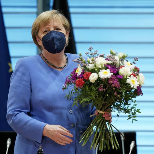 Photo Story: Birthday bouquet for Angela Merkel