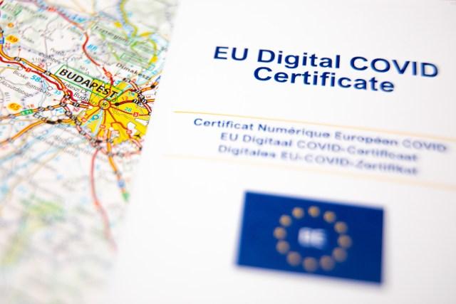 EU digital COVID certificate, the key to summer travel