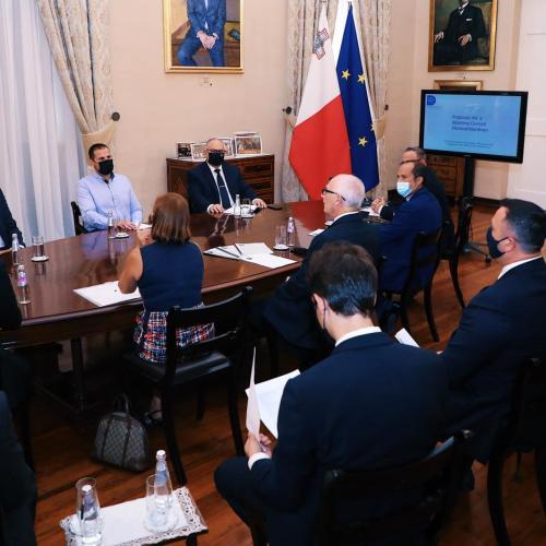Malta Maritime Forum Presents a Maritime-Centred Electoral Manifesto to Malta's Political Leaders