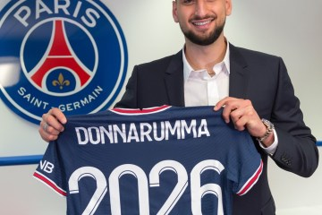 Italy goalkeeper Donnarumma joins PSG after AC Milan exit