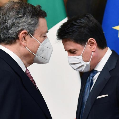 Conte says will back justice reform after Draghi talks