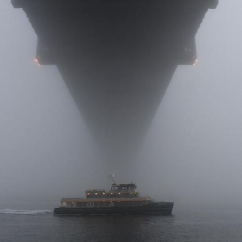 Photo Story – Fog in Sydney amid lockdown