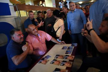 Bulgaria's centre-right GERB party seen narrowly leading in general election-exit polls