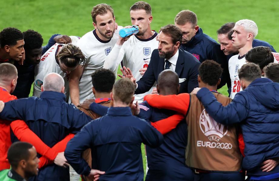 'Same again', Southgate tells England before Italy final