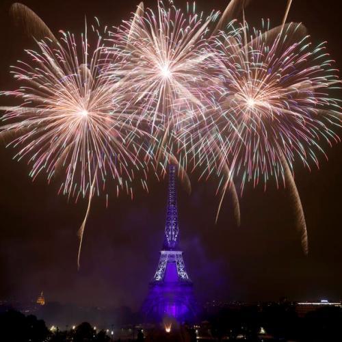 Photo Story – Bastille Day fireworks in Paris