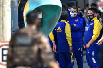 Police charge six from Boca Juniors after Brazil clashes