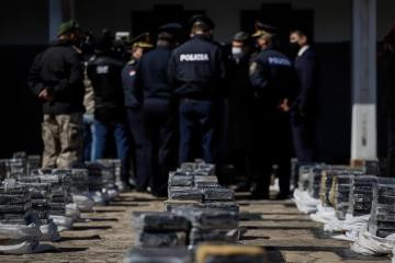 Photo Story – Paraguayan National Police seized 3.4 tons of cocaine