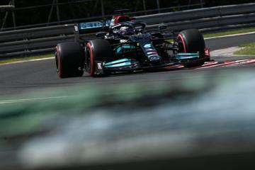 Hamilton seals Budapest pole despite boos, Verstappen third fastest