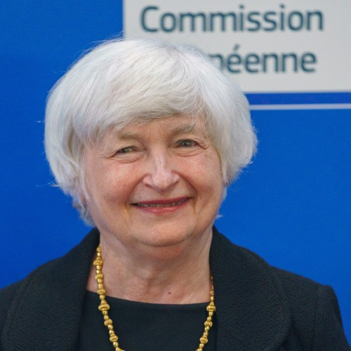 Yellen urges EU to back global tax deal, keep fiscal support