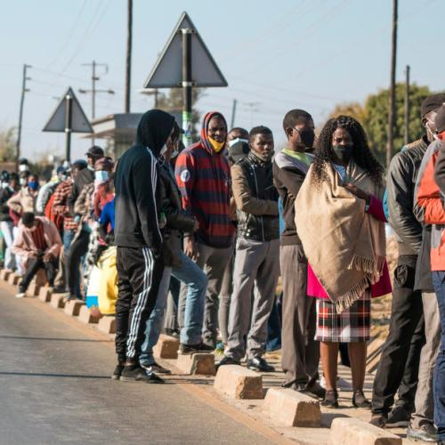 Zambia votes in presidential election seen too close to call