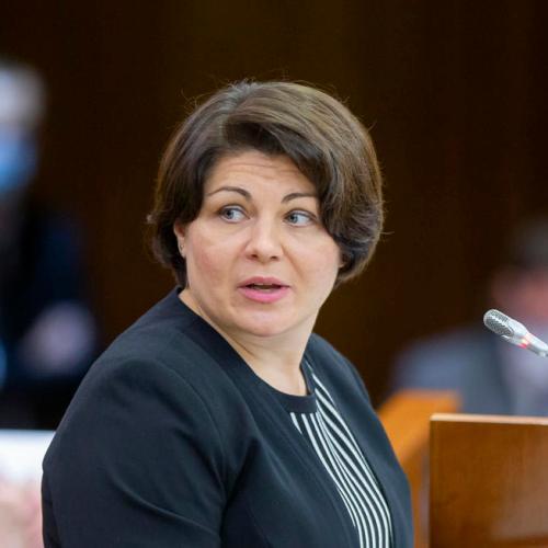 Moldova parliament approves Natalia Gavrilita as new prime minister