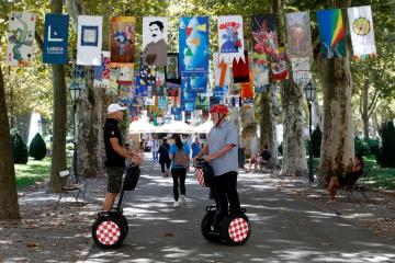 Photo Story: Flags festival in Zagreb
